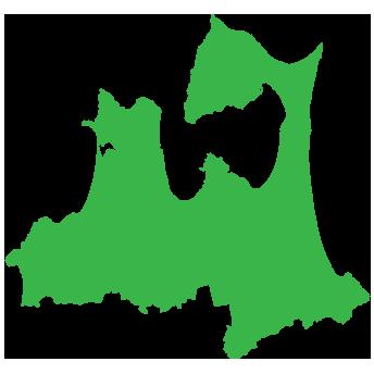青森県全域